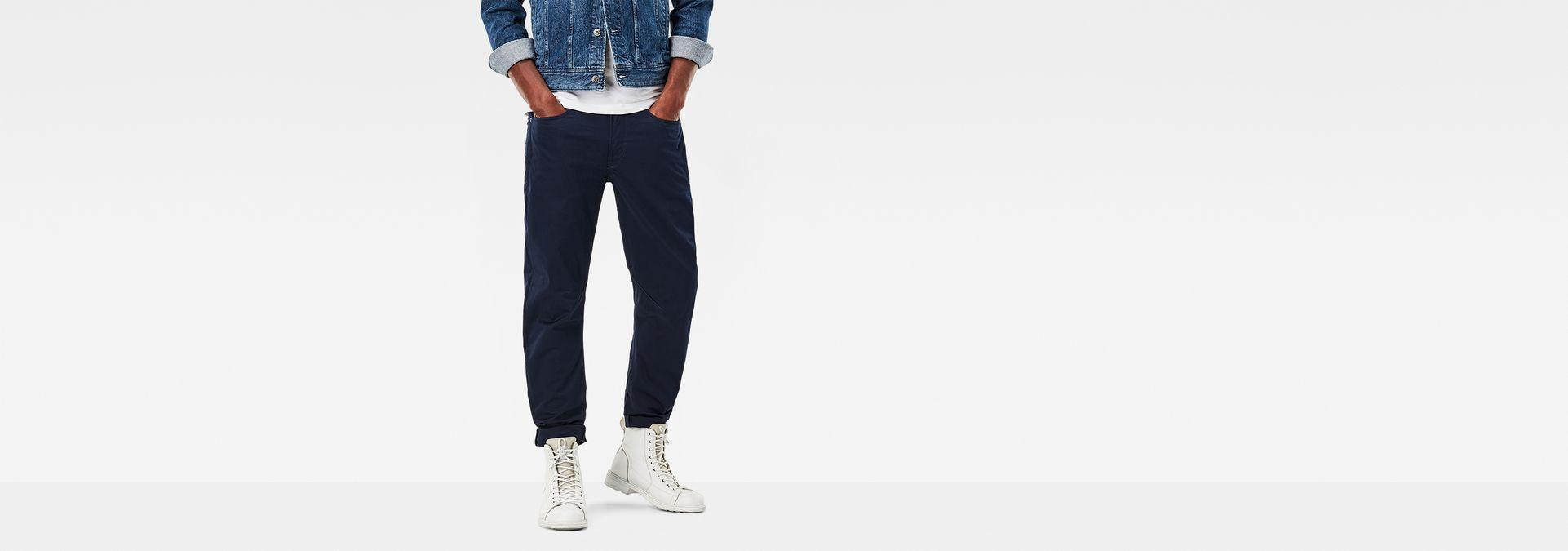 3cf79720879 G-Star RAW® D-Staq 3D Tapered Pants Dark blue model front ...