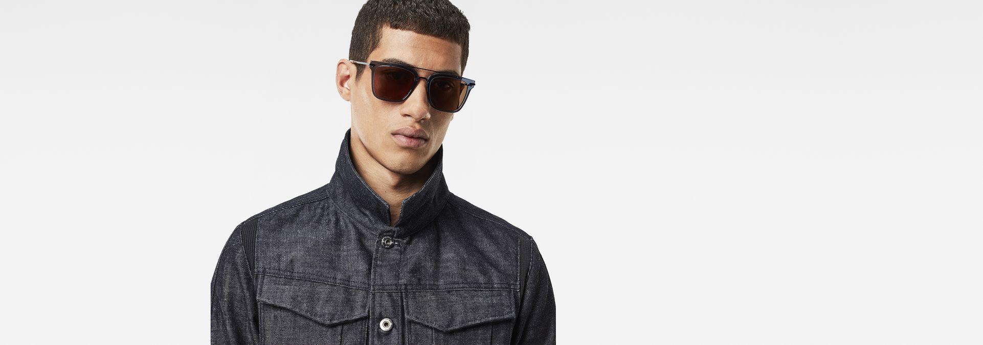 9f69567c951 ... G-Star RAW® Combo Eehro Sunglasses Medium blue ...