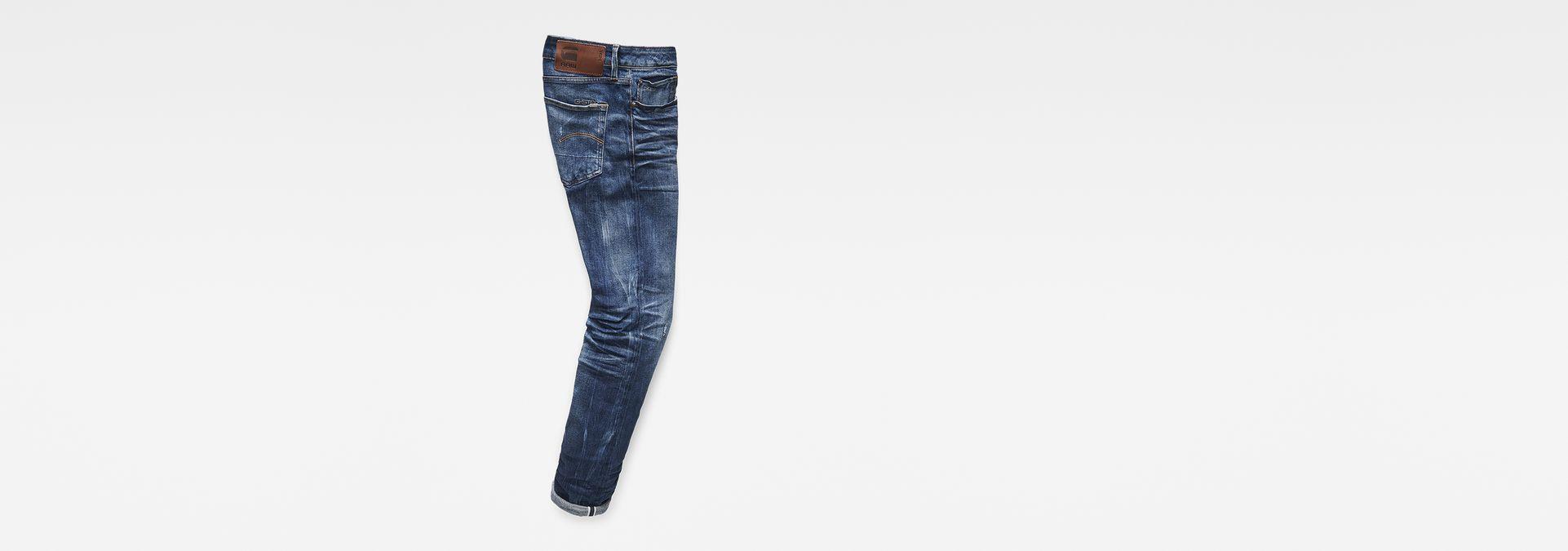 a210d76373e 3301 Red Listing Slim Jeans | Medium Aged | Men | G-Star RAW®