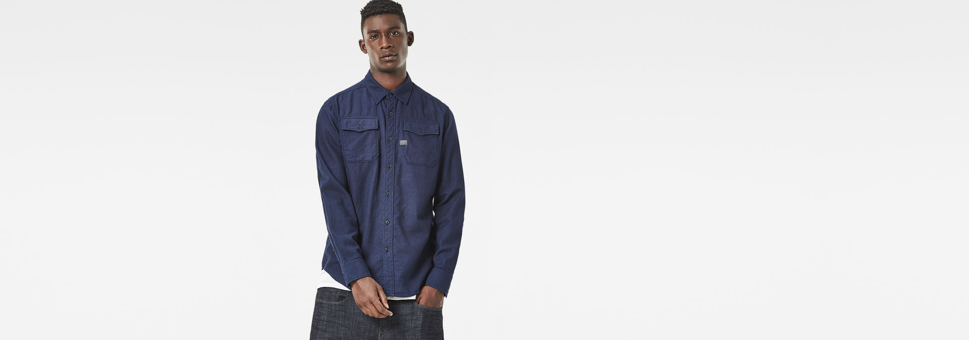 22bfd55bbdf Landoh Shirt | rinsed check | Men | G-Star RAW®