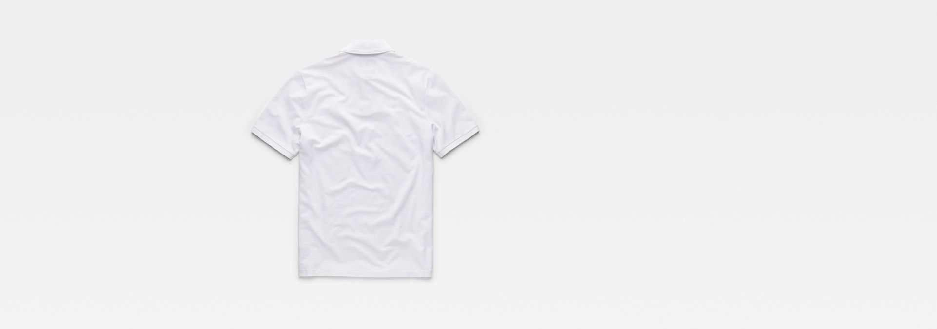 Dunda Polo Slim T Shirt | White | G Star RAW®