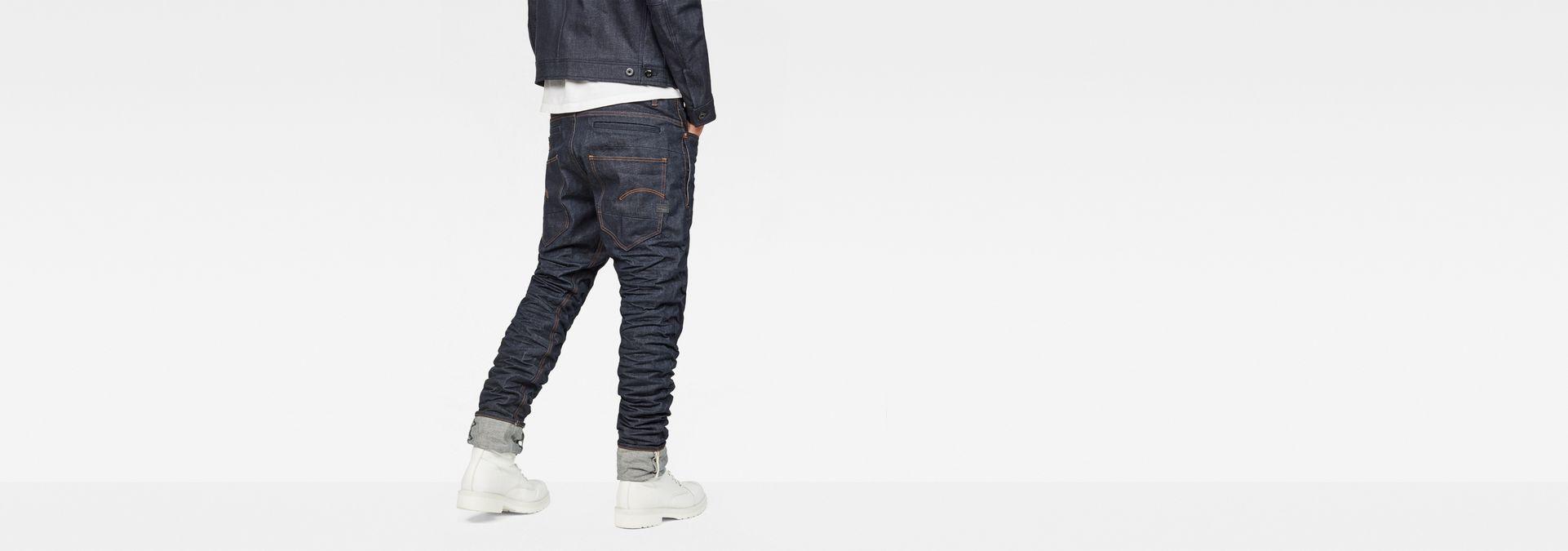 82e17d5122e ... G-Star RAW® Raw Essentials Staq 3D Tapered Jeans Dark blue ...