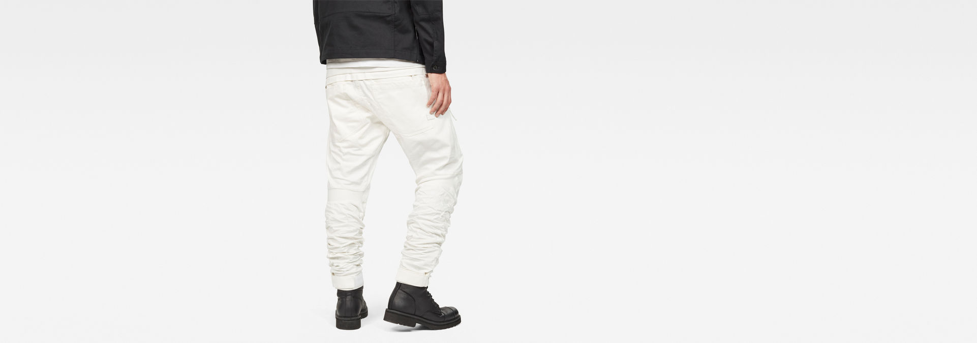 f6cf637436d ... G-Star RAW® Raw Essentials 5620 Motion 3D Tapered Jeans White ...