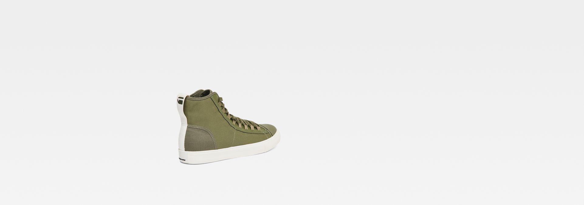 735d6c622d8 ... G-Star RAW® Scuba II Mid Sneaker Groen sole view