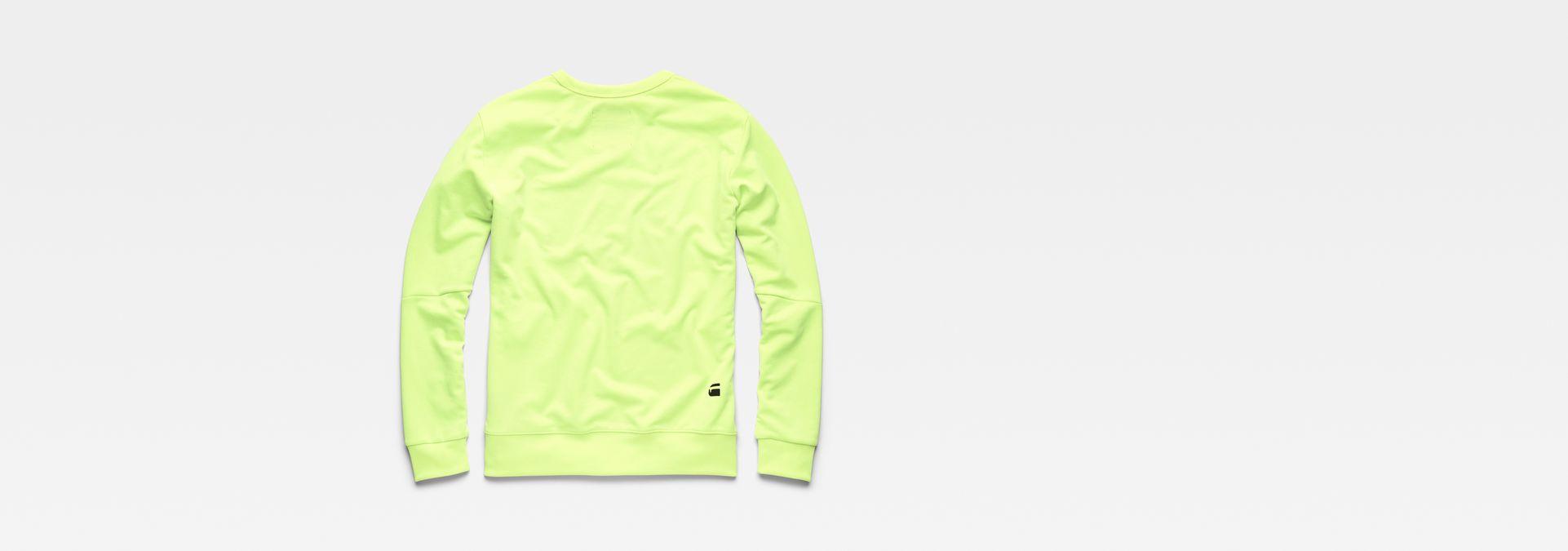 dffd005b796 ... G-Star RAW® Vilsi Stalt Deconstructed Slim Sweater Yellow flat back