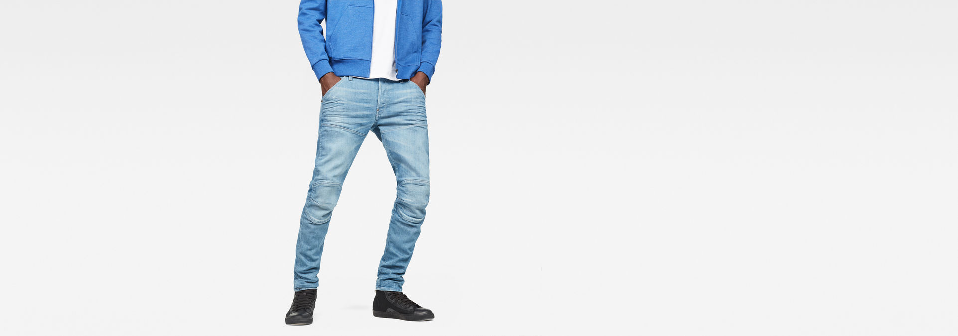 5620 G Star Elwood 3D Slim Jeans | Medium Aged | G Star RAW®