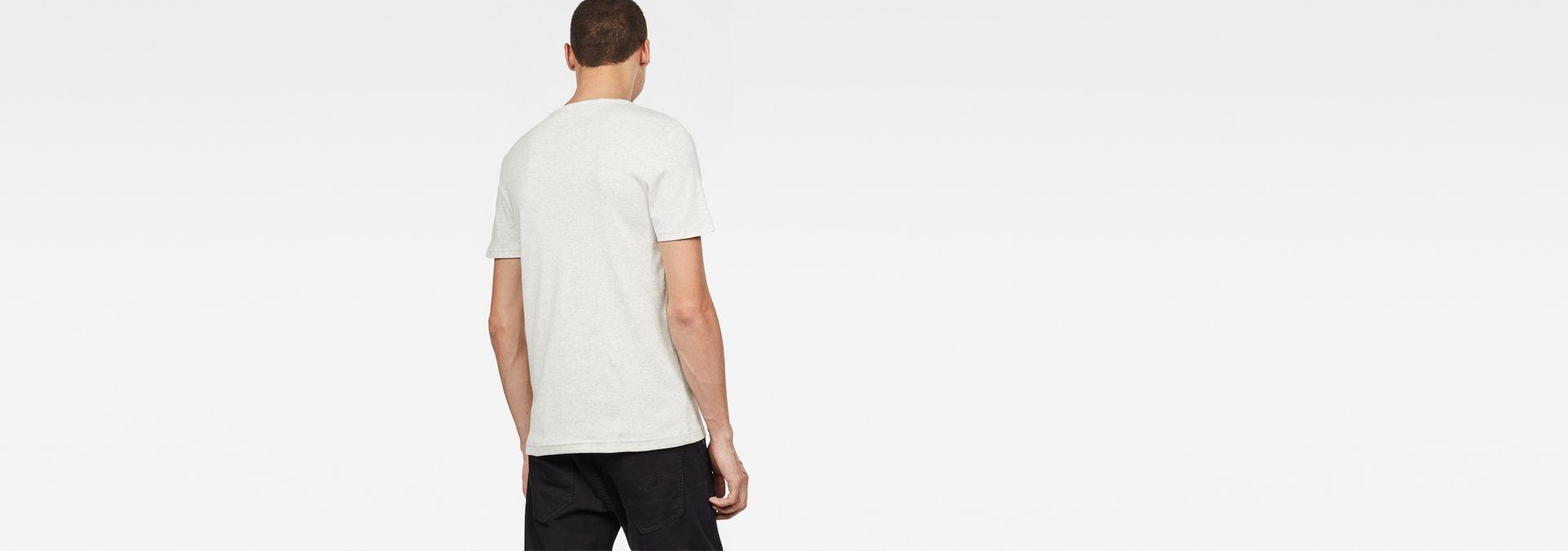 53ab59152866 ... G-Star RAW® Drillon T-Shirt White model back