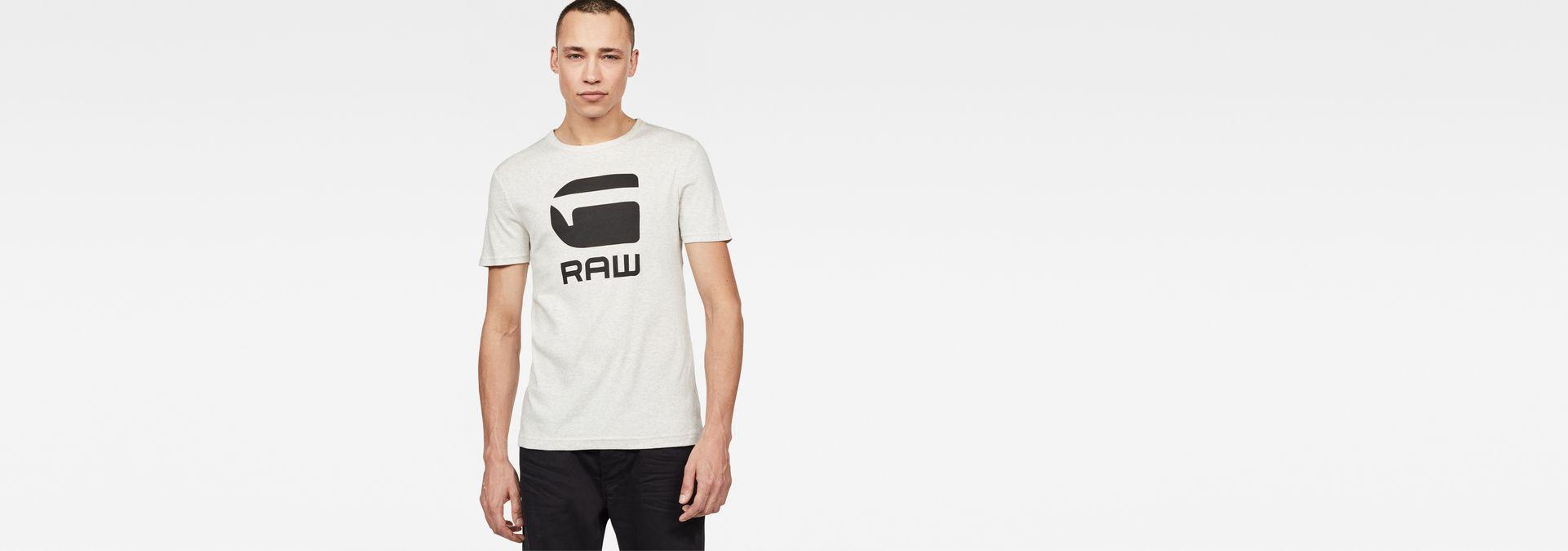 cbd06914c43a G-Star RAW® Drillon T-Shirt White model front ...