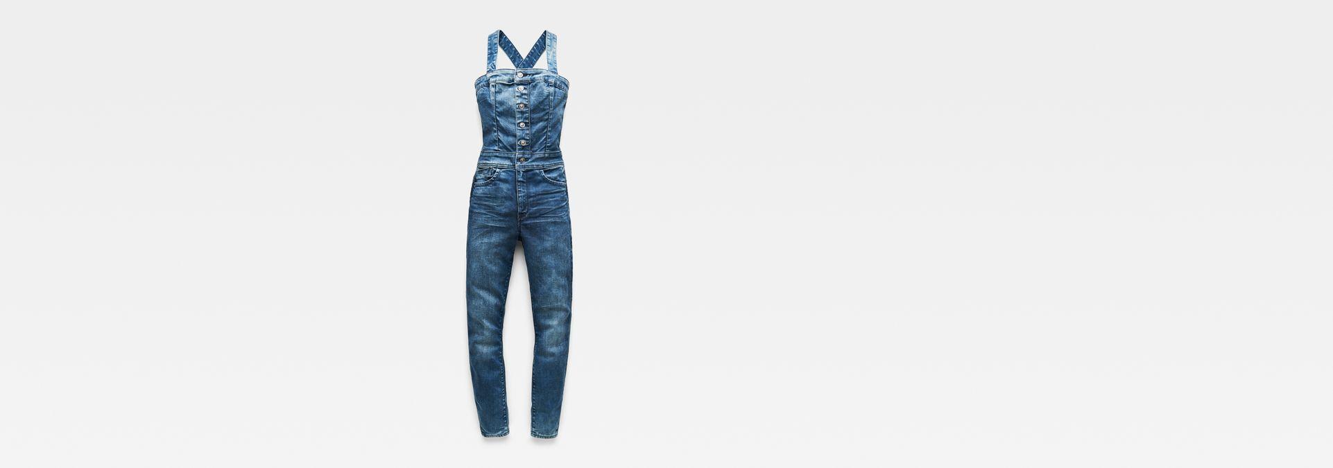 459505c94188 G-Star RAW® Lynn Pinafore Jumpsuit Medium blue model front ...