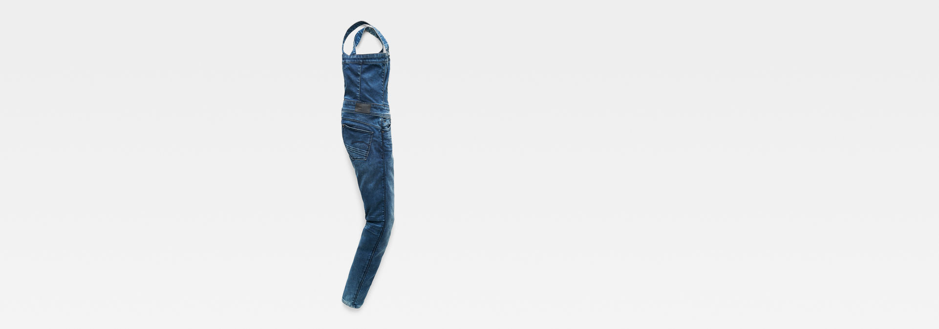 57be4f9cac0e ... G-Star RAW® Lynn Pinafore Jumpsuit Medium blue flat back