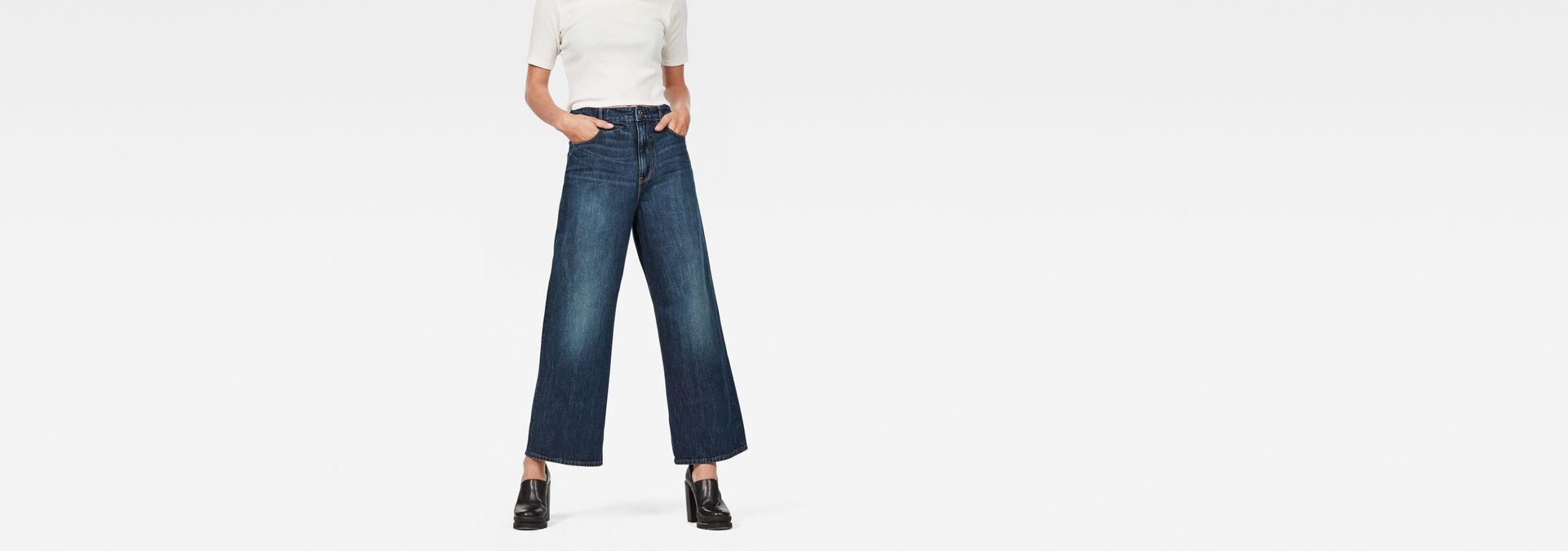 22c1c6c66e G-Star RAW® D-Staq 5-Pocket High Waist Wide Leg Jeans ...