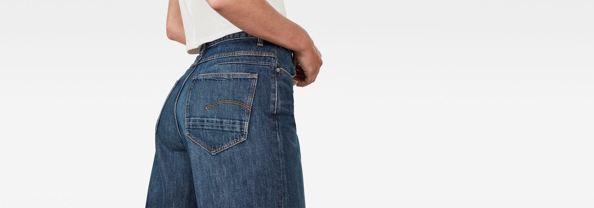 72e423fe14 ... G-Star RAW® D-Staq 5-Pocket High Waist Wide Leg Jeans ...