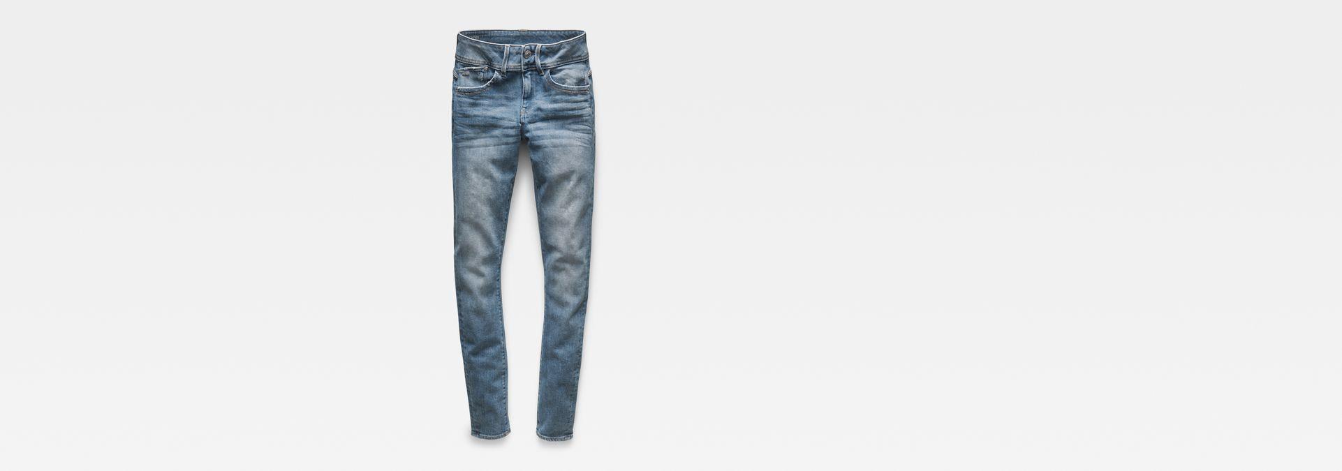 9e6db23098d Lynn Mid Waist Skinny Jeans | Medium Aged Destroy | G-Star RAW®