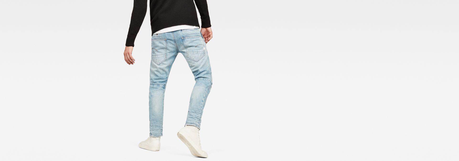 66438d69665 ... G-Star RAW® D-Staq 3D Tapered 3D-Restored Jeans Light blue ...