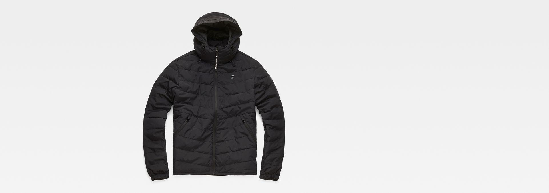 Attacc Quilted Hooded Jacket | Dark Black | Men | G Star RAW®