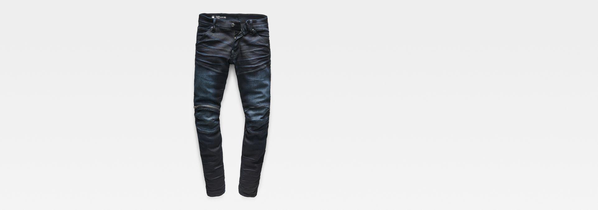 6706c3c396c35e 5620 3D Zip Knee Super Slim Jeans | Dark Aged | Men | G-Star RAW®