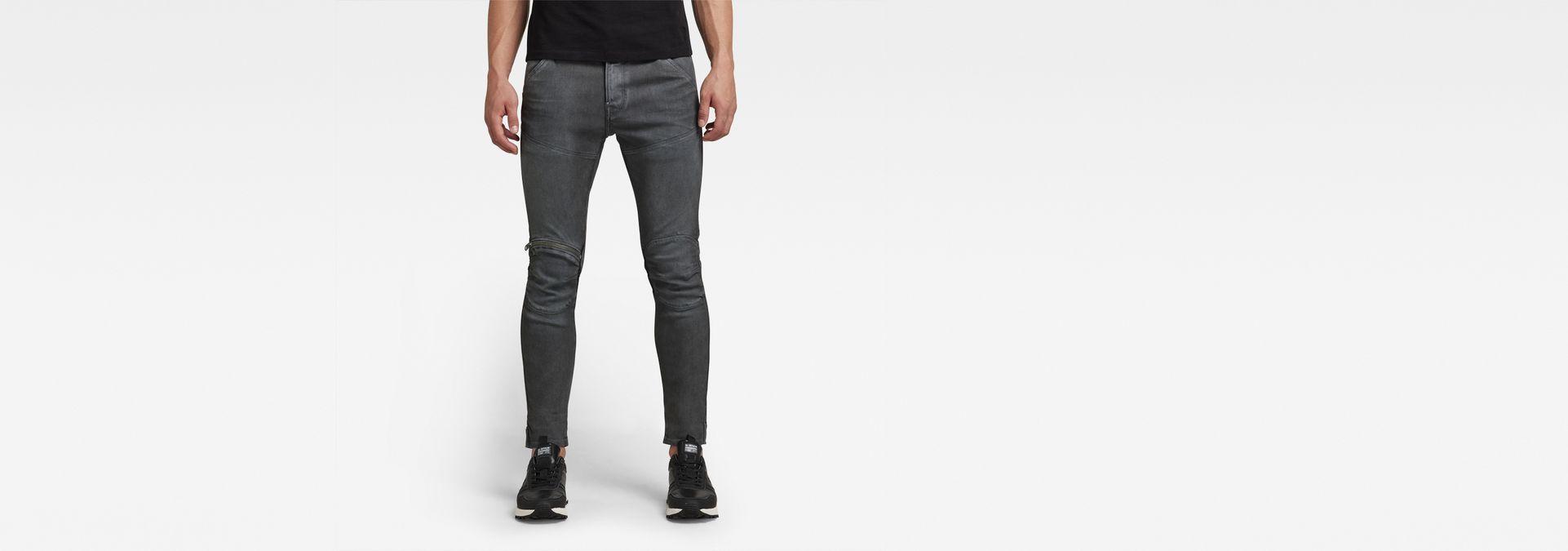 f8525ee0 G-Star RAW® 5620 3D Zip Knee Super Slim Jeans Grey ...
