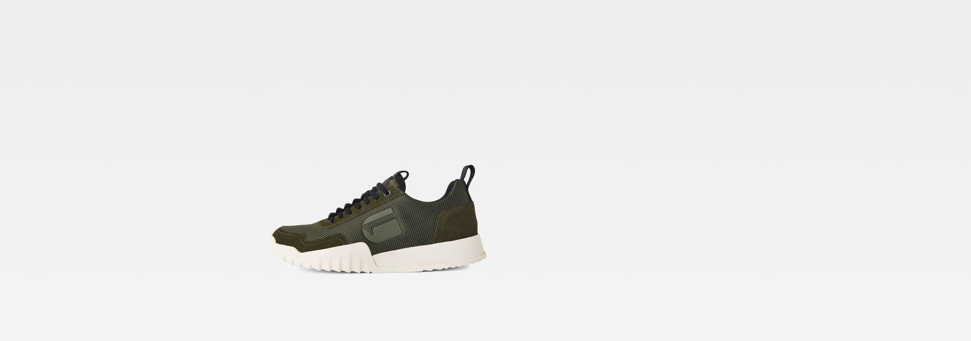 G-Star RAW® Rackam Rovic Sneaker Green side view ... 4eb0d59971615