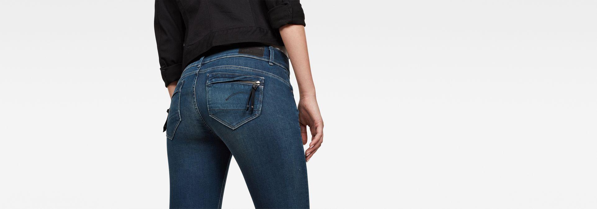 Midge Cody Mid Waist Skinny Jeans | Power Wash | G Star RAW®