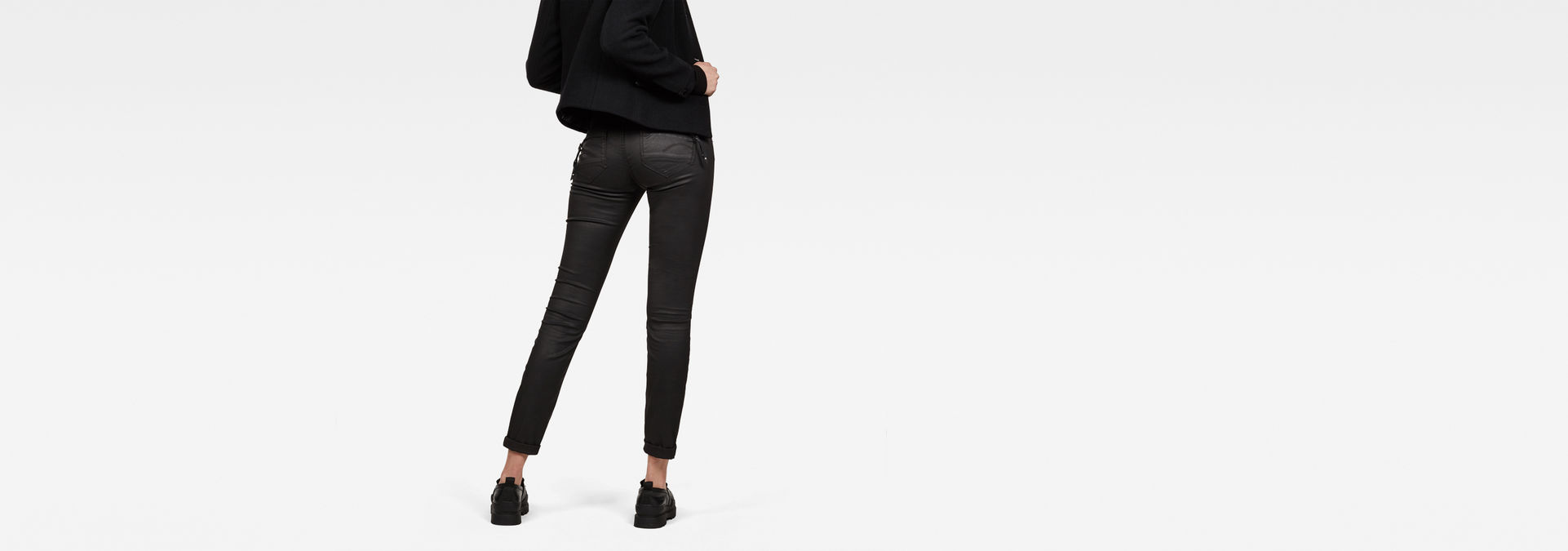 Mujer Pantalones G Star Raw Rovic Mid Waist Skinny Pantalones Para Mujer Pantalones Poliglota Net