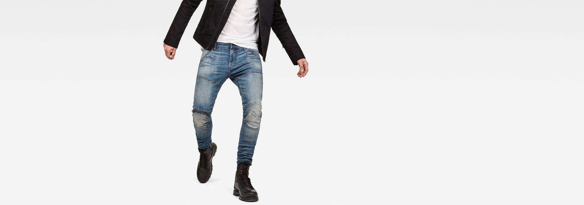 5620 G Star Elwood 3D Zip Knee Super Slim Jeans | G Star RAW®