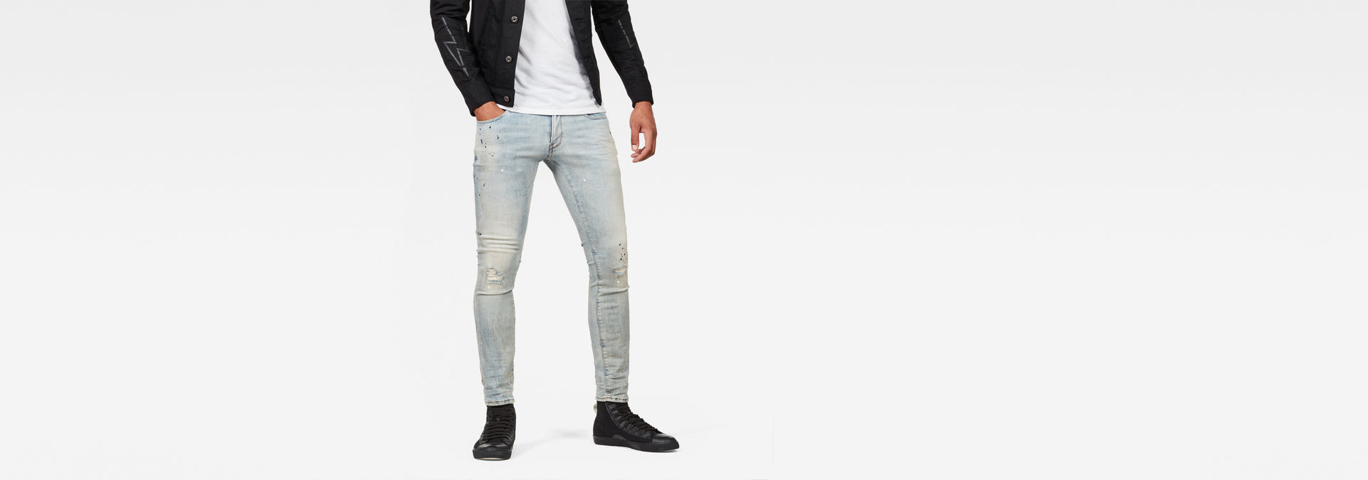 3301 Deconstructed Super Slim Jeans | G Star RAW®