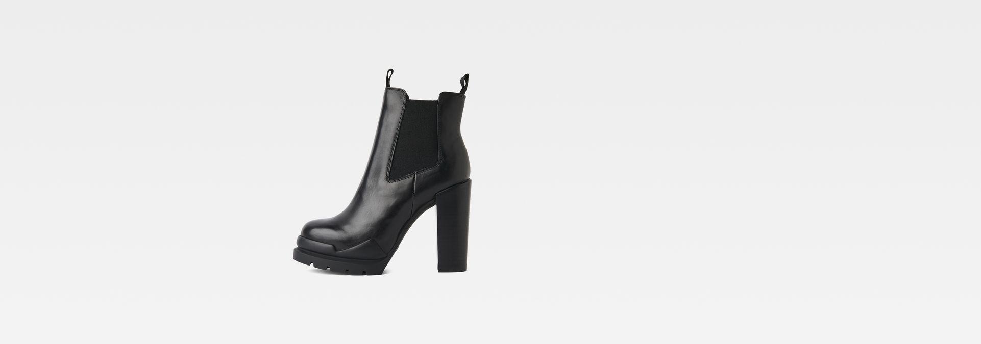 Rackam Heel Chelsea Boot | Black | Femmes | G Star RAW®