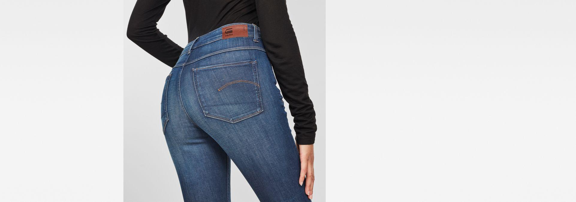 G-STAR RAW 3301 Deconstructed High Waist Skinny Jeans Femme