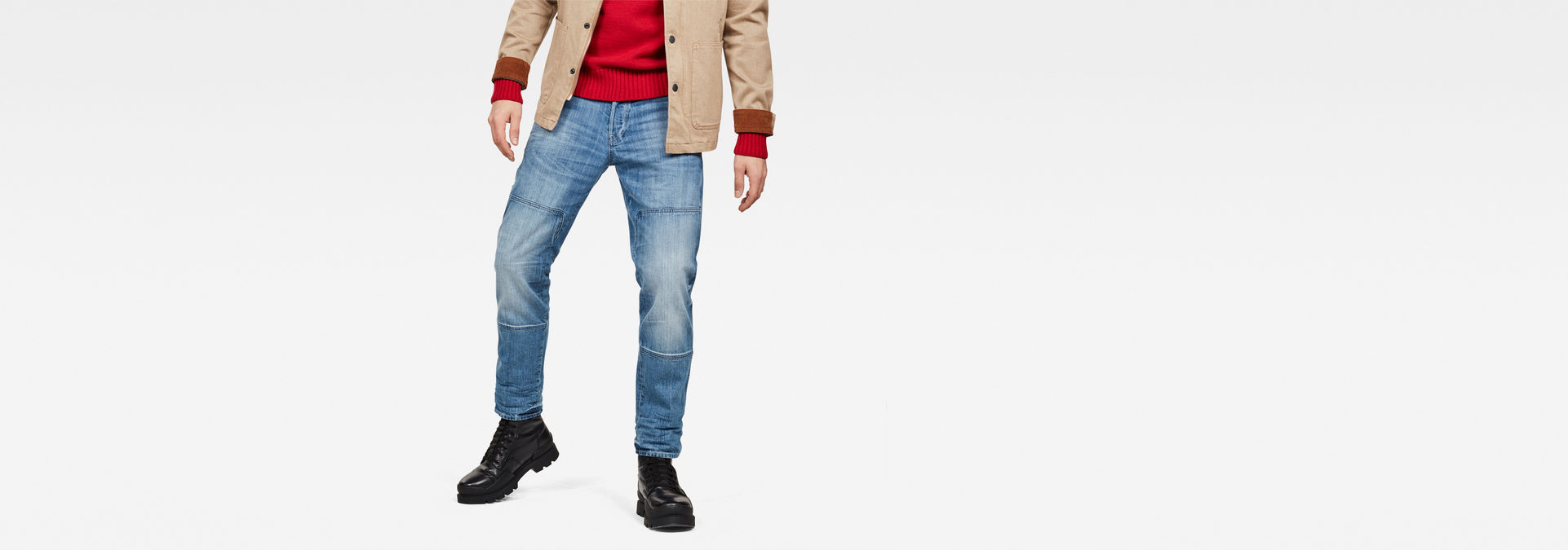 4b06a11e2ed Faeroes Straight Tapered Jeans. £ 115.00 including VAT. Uniform Of The Free.  G-Star ...
