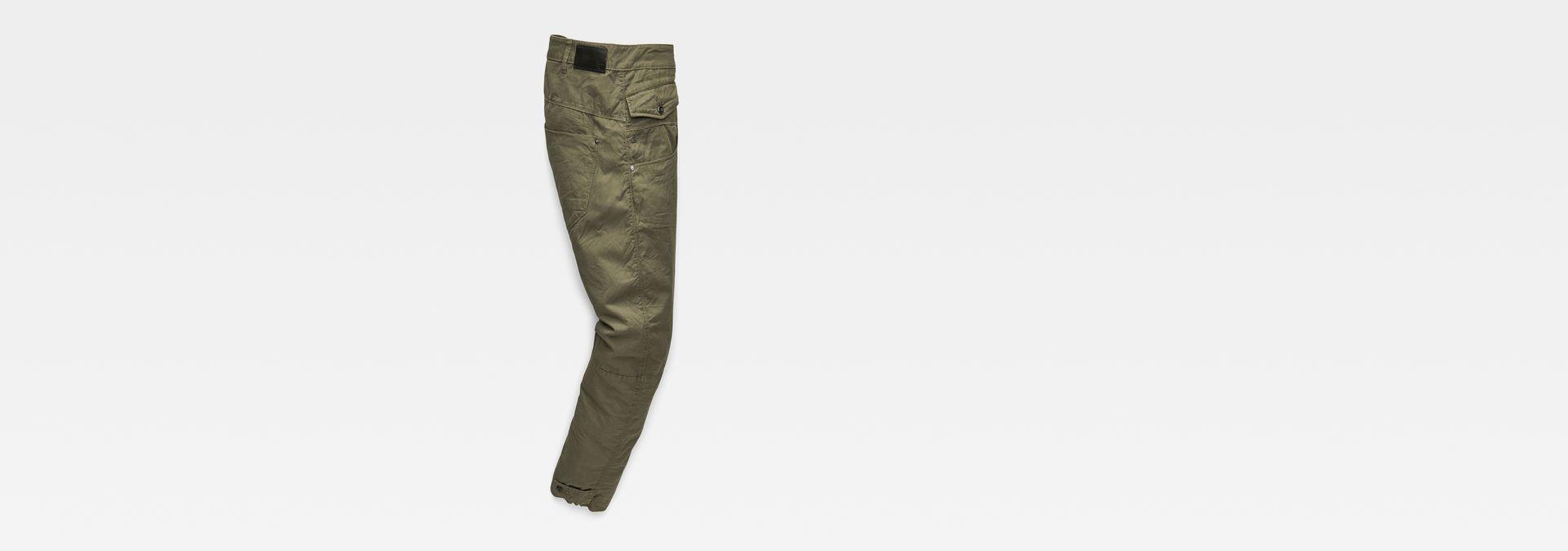 bb7559f59cd ... G-Star RAW® Army Radar Mid Boyfriend Pants Green flat back