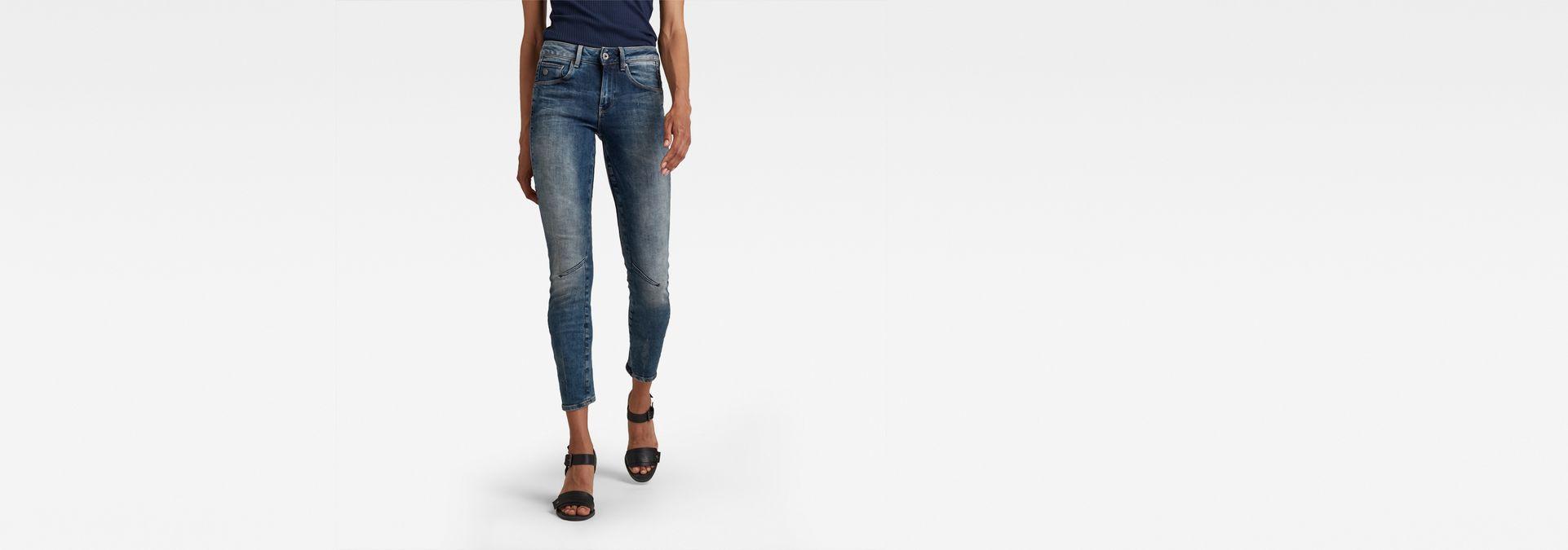 2d0d0539416 Arc 3D Mid Waist Skinny Jeans | Medium Aged | Women | G-Star RAW®