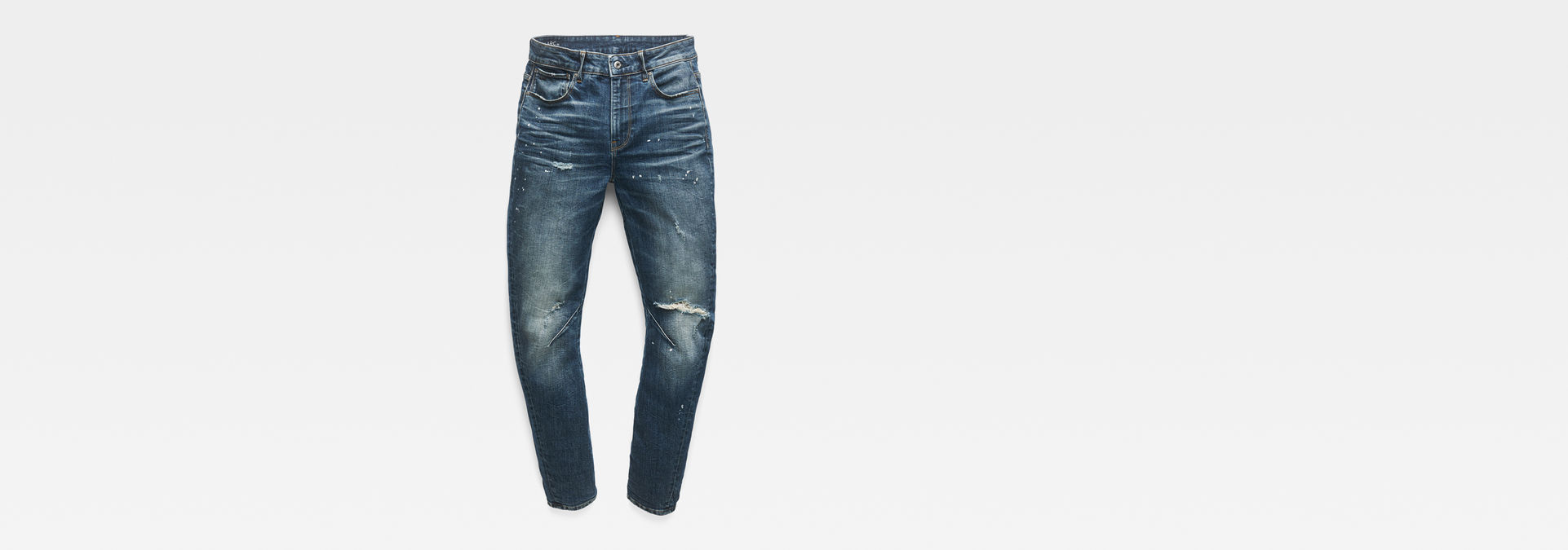 Arc 2.0 Boyfriend Jeans | Dark Aged Painted Destroy | G Star