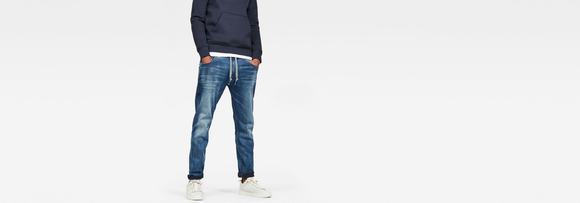 Arc 3D Sport Straight Tapered Jeans   Light Aged   G Star RAW®