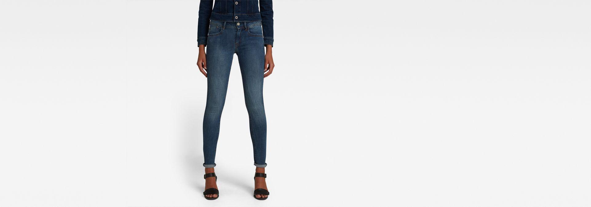 43805d6ed4 G-Star RAW® Lynn D-Mid Waist Super Skinny Jeans Medium blue ...