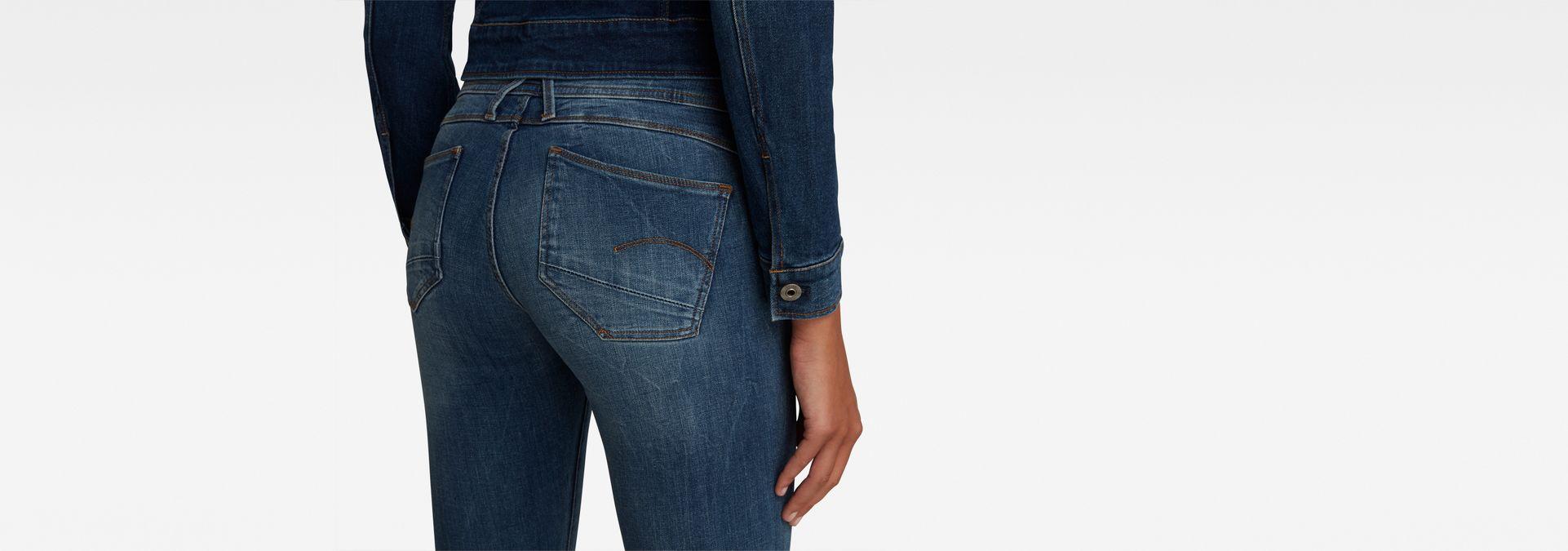c1fa291916 ... G-Star RAW® Lynn D-Mid Waist Super Skinny Jeans Medium blue ...