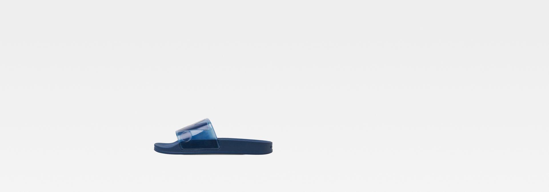 1f235e3fae5 G-Star RAW® Cart Slide II Transparent Azul oscuro side view ...