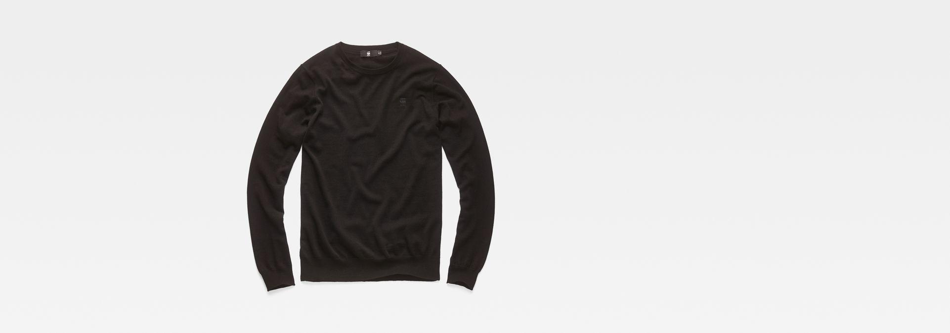 Core Knit | Dark Black | Hommes | G Star RAW®