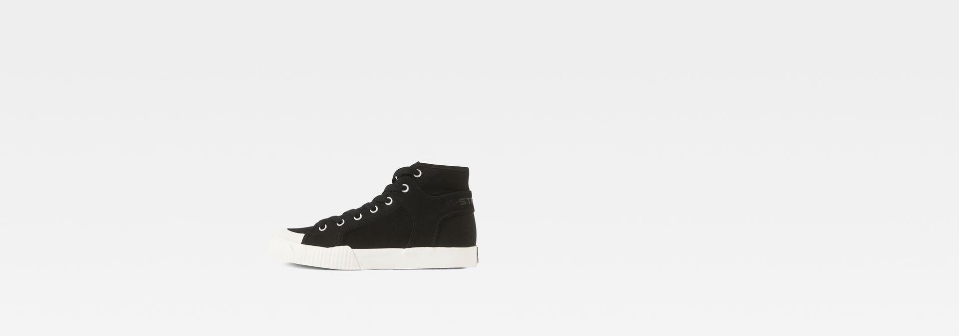 2eb2a4a0e3c G-Star RAW® Rackam Tendric Mid Sneakers Black side view ...