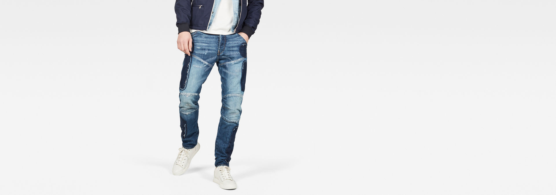 5620 3 D Straight Tapered Jeans by G Star