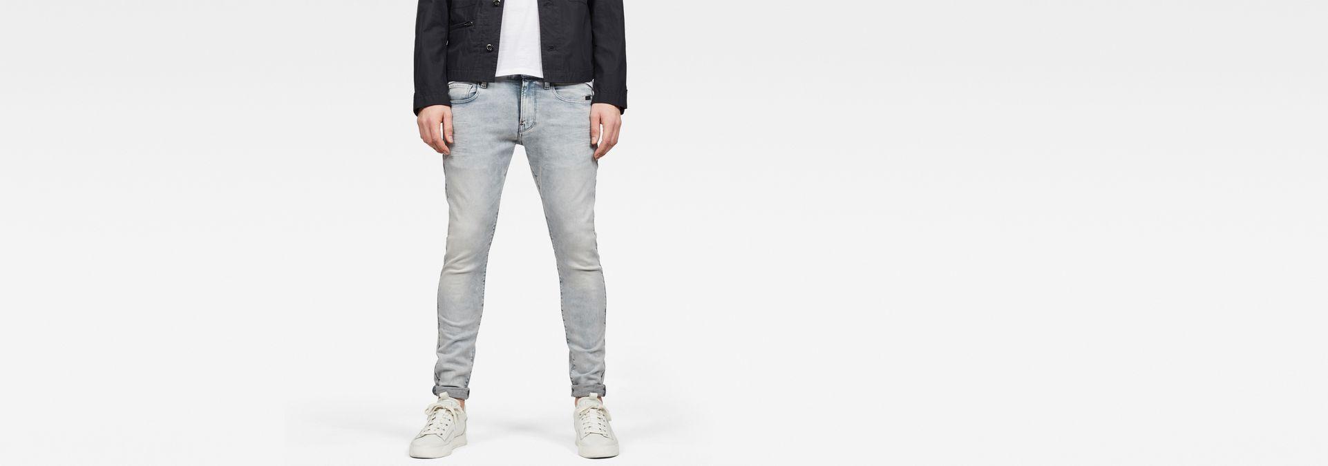 Revend Skinny Jeans | Sun Faded Grey | Hommes | G Star RAW®