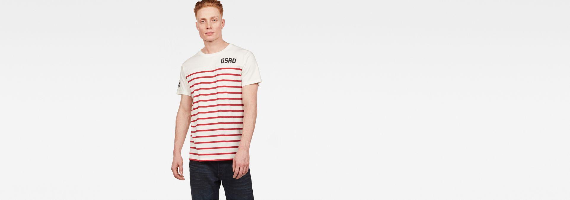 T shirt Graphic 16   MilkBaron Stripe   Hommes   G Star RAW®