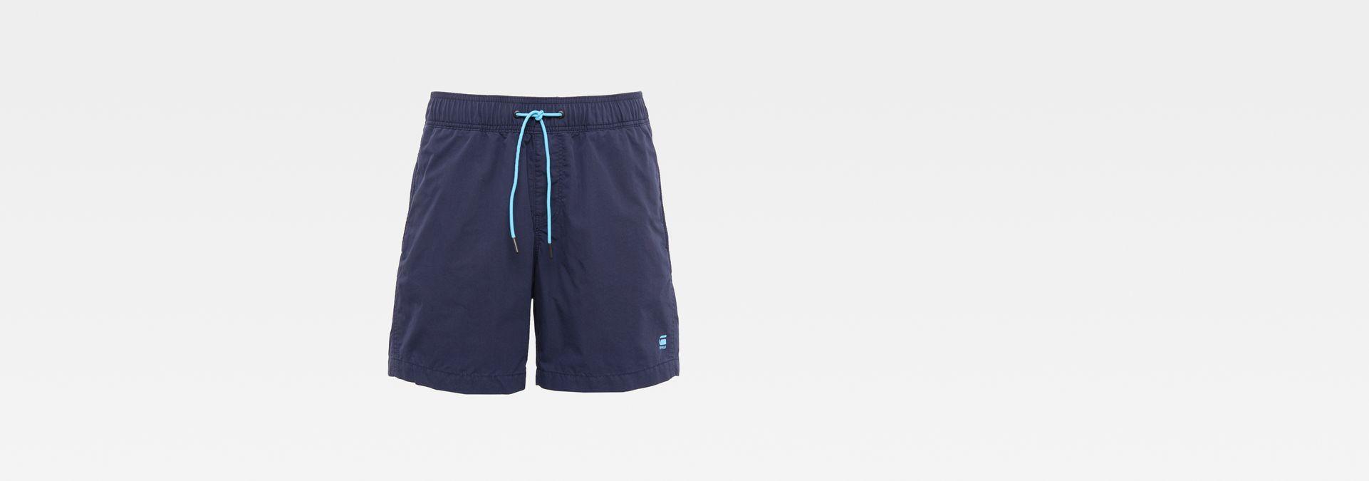 15ecbbece7b1f G-Star RAW® Dirik Swim Shorts Dark blue front bust ...