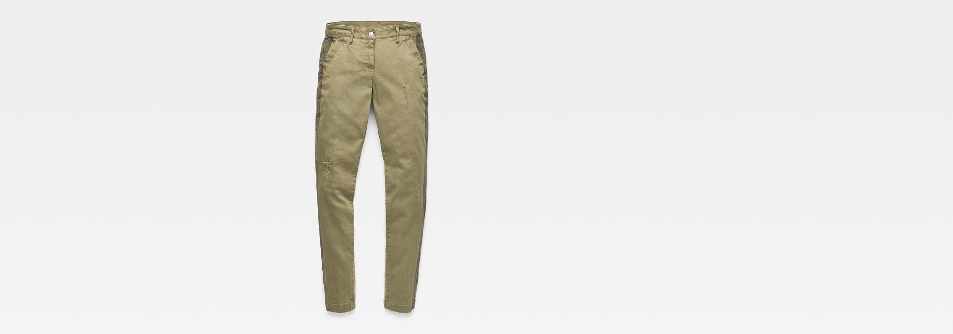 Bronson Mid Waist Skinny Trousers | Sage | Women | G Star RAW®