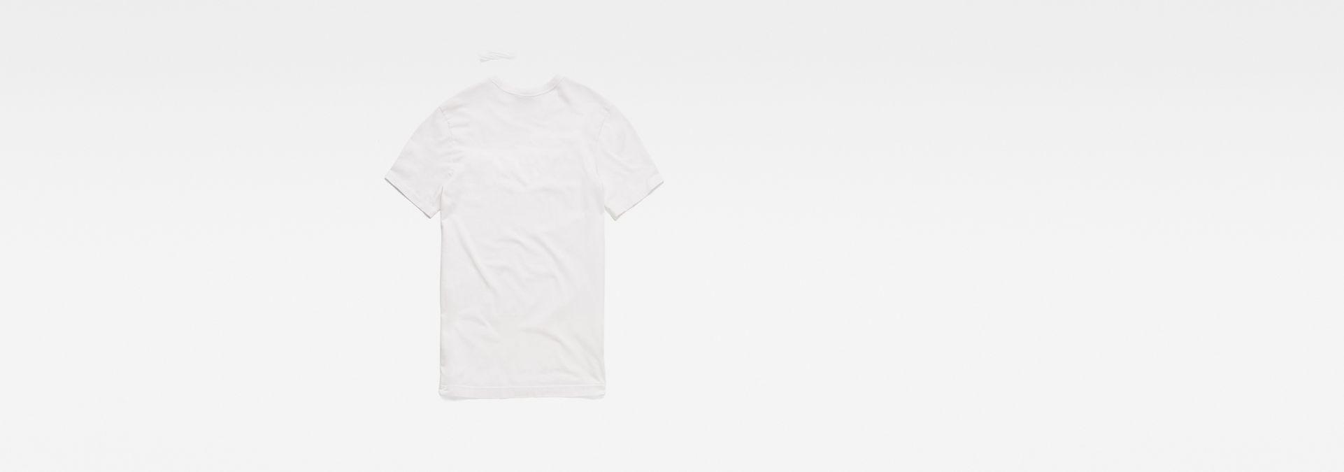 a37c3db61fc9 ... G-Star RAW® Graphic Logo 4 T-Shirt White flat back