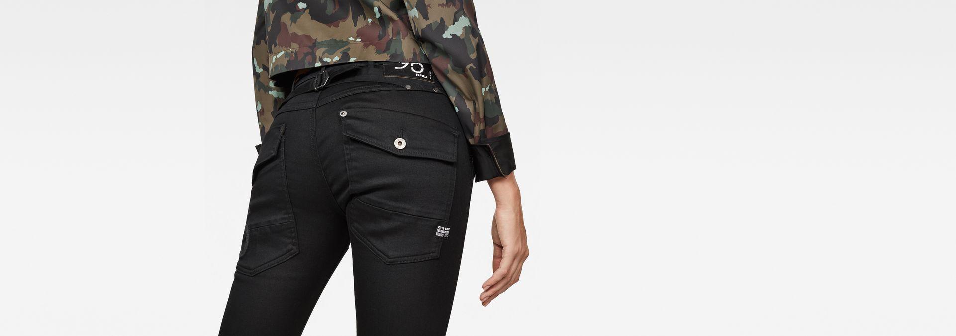 f36a4c31b27 ... G-Star RAW® 5620 G-Star Elwood Heritage Embro Tapered Jeans Black ...