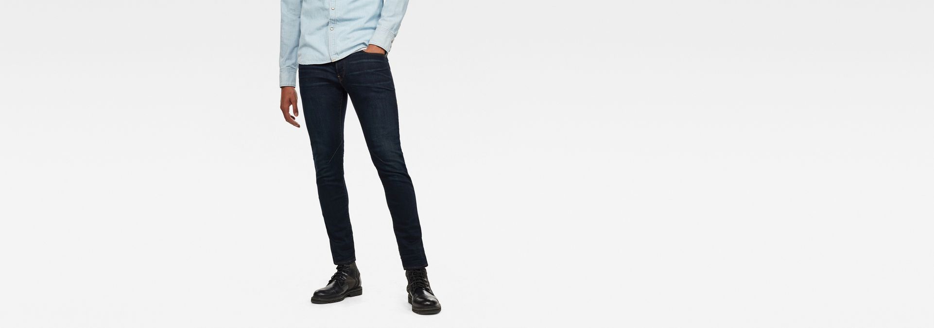 D Staq 5 Pockets Slim Jeans by G Star
