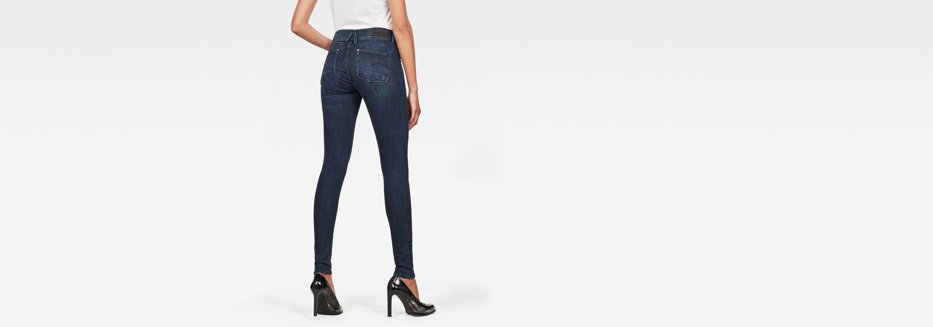 Super Skinny Trouser With Stars Navy