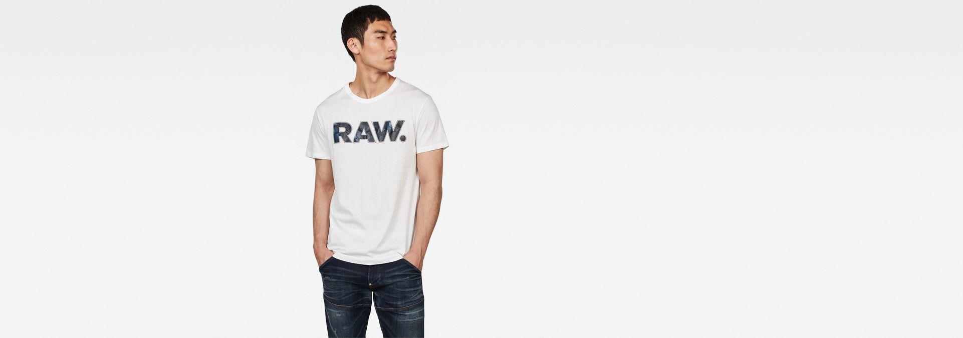 Rijks Graphic 5 T Shirt | White | Men | G Star RAW®