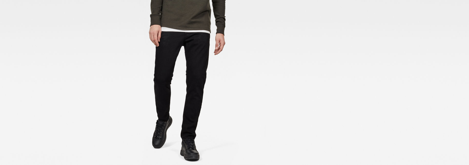 MEGA STYLE NEUF G-STAR 3301 Slim Stretch Jeans//Pantalon Tailles: 33//32