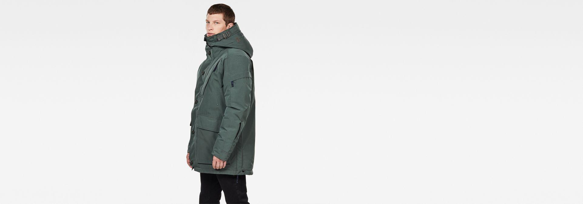 Détails sur G star raw gs 3301 100% noir à capuche pour homme veste manteau homme taille l afficher le titre d'origine